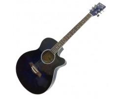 (1118) Необыкновенная Акустическая гитара Maxtone WGC 400N