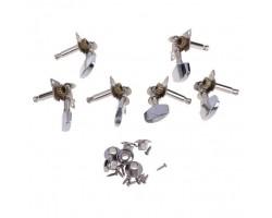 Колки металлические для Акустической Гитары Комплект (3 левых и 3 правых