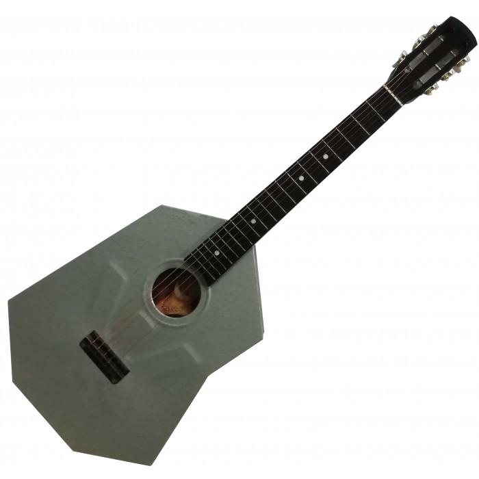 (1250) Эксклюзивная Гитара с Металлическим Корпусом