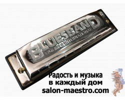 (0963) Губная гармошка Bluesband Hohner International