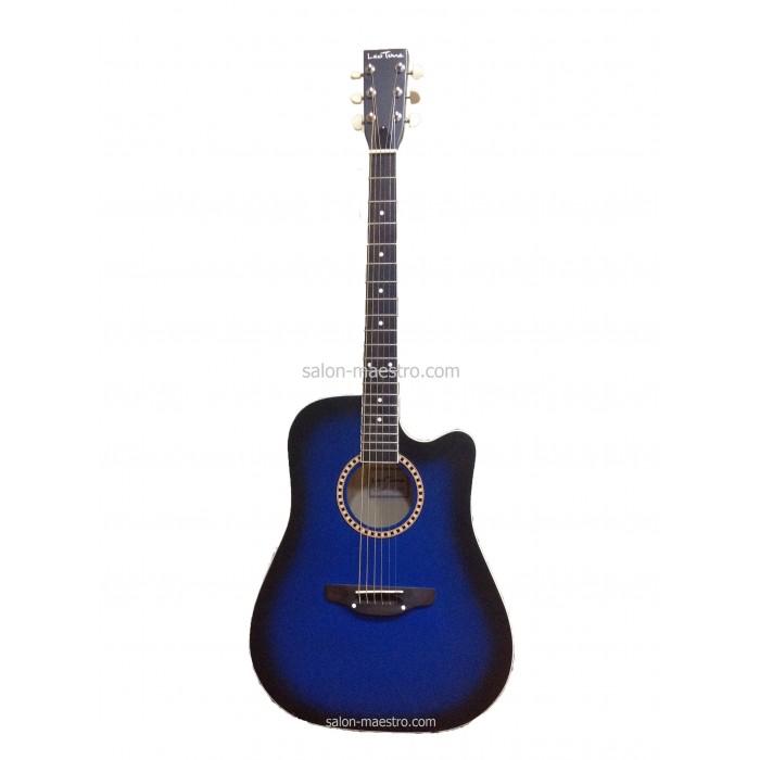 ( 01\008 ) Акустическая Гитара Leotone L-03 Blue Матовая