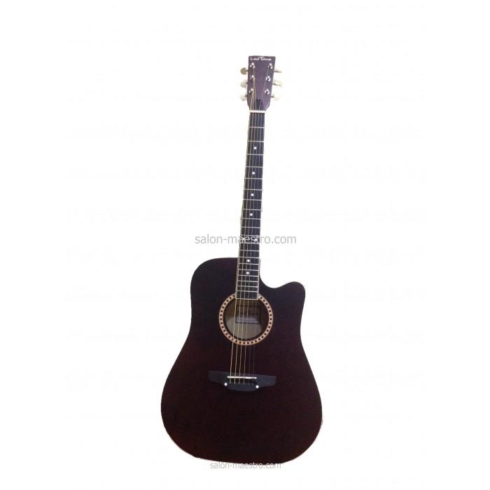 ( 01\024 ) Акустическая Гитара Leotone L-03 Black Матовая