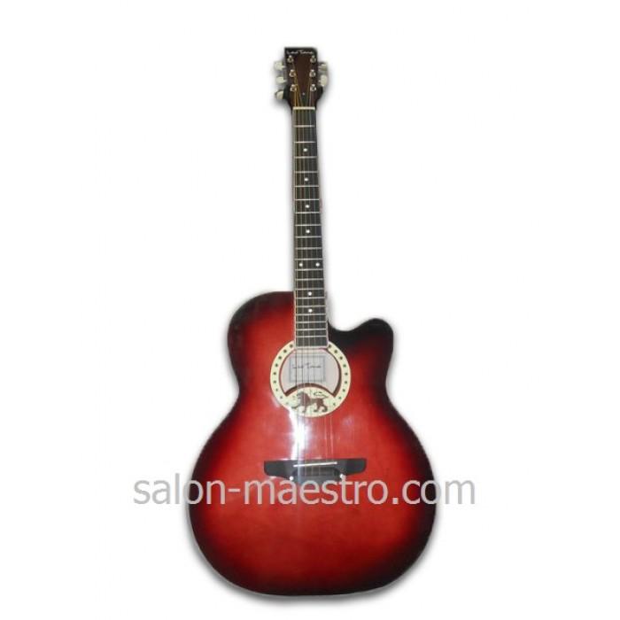 ( 059) Новая акустическая гитара Leotone L-17