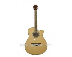 Новая Электроакустическая Гитара MAXWOOD MJ-6606/CEQ