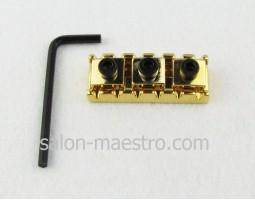 Верхний Локовый (Запирающий) порожек Gold для Электрогитары