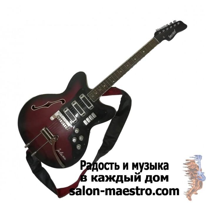 (0874) Советская гитара JOLANA Special