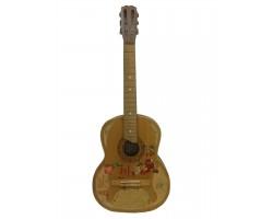 ( 0721 ) Гитара Черниговской музыкальной фабрики Новогодний вариант