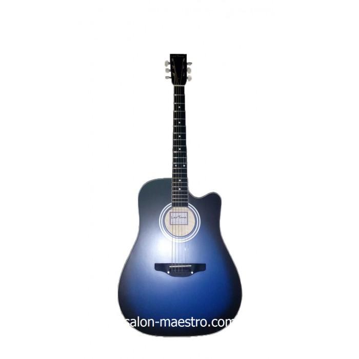( 01\135 ) ( 01\136 ) Акустическая Гитара Leotone L-03 Blue Матовая