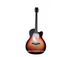 ( 01\156 ) Акустическая Гитара Leotone L-17 Глянец