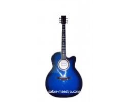 ( 01\160 ) Акустическая Гитара Leotone L-01 Blue Глянец