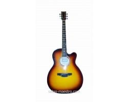 ( 01\162 ) Акустическая Гитара Leotone L-01 Yellow Глянец