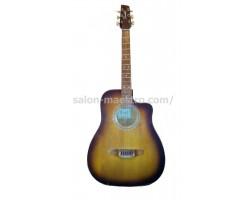 (01/0532) Гитара «Трембита» акустическая для уличного музыканта