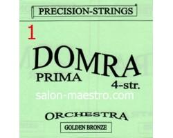 1-я струна (0,3мм) Домра Прима 4-струнная Поштучно