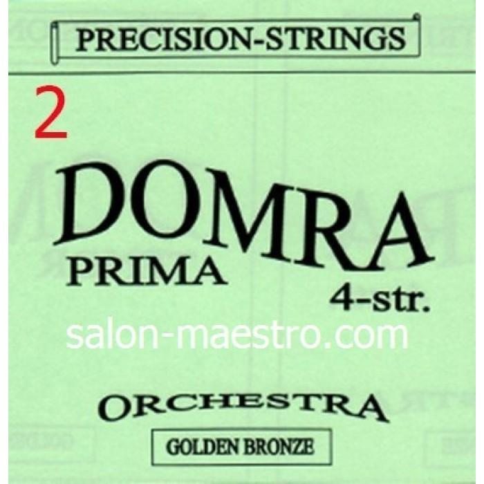 2-я струна (0,4мм) Домра Прима 4-струнная Поштучно