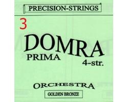 3-я струна (0,61мм) Домра Прима 4-струнная Поштучно