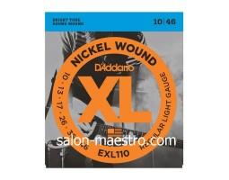 Мега струны для электрогитары D'Addario EXL110 1046