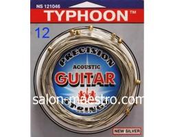 Струны для акустической 12-и струнной Гитары TYPHOON