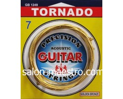 Струны для акустической 7-ми струнной гитары TORNADO