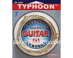 Струны для акустической 7-ми струнной Гитары TYPHOON