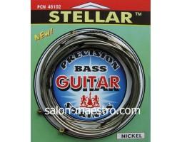 Струны Для Бас Гитары Solid Stellar С Плоской Навивкой