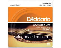 Супер Струны D`addario Bronze Extra Light 10-50