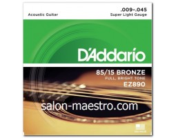 Супер Струны Daddario Bronze Light 09-45