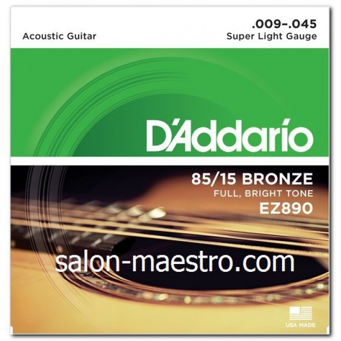 Супер Струны Daddario Bronze Light 09-45