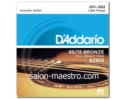 Супер Струны Daddario Bronze Light 11-52