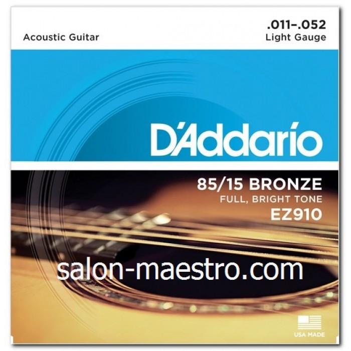 Супер Струны Daddario Bronze Light 11-52