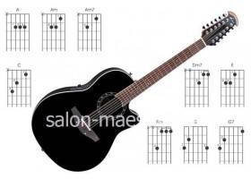 Установка струн и Настройка 12-ти струнной Гитары