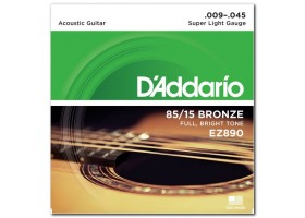 Струны D`addario Bronze Super Light .009-.045