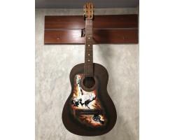 (2812) Гитара с Художественной Росписью