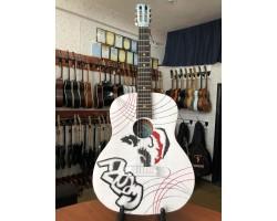 (0542) Гитара с Художественной Росписью «Joker»