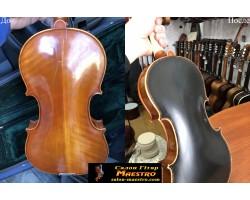 Лакировка Скрипки в Черный цвет (Пожелание Хозяина)