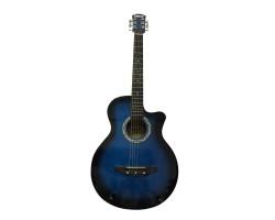 (5246) Гитара Акустическая Мини Джамбо Мастеровая Отстройка