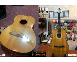 Полная реставрация Гитары
