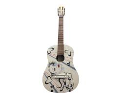 [5606] Гитара Классическая 3\4 с Росписью «Прекрасная Леди»