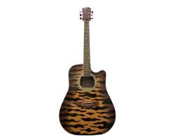 [5546] Гитара Акустическая Leoton [Tiger Style]