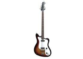 (2410) Редчайшая Бас Гитара Музима Musima de Luxe 25B