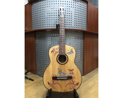 (3134) Гитара с Мастеровой Росписью Японский Стиль