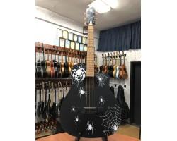 [3148] Гитара с Художественной Росписью «Паук»