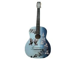 (3149) Гитара с Художественной Росписью