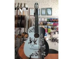 (3214) Гитара с Художественной Росписью