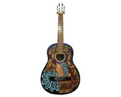 (3575) Эксклюзивная Гитара 3\4 с Росписью