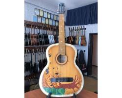 (3609) Гитара с Художественной Росписью