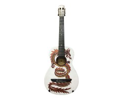 (3949) Гитара 3\4 Meister-Guitarre Arion с Росписью