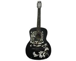 (3992) Эксклюзивная Гитара с Росписью Тигр