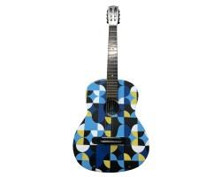 (4221) Эксклюзивная Гитара с Росписью