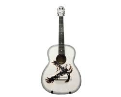 (4241) Эксклюзивная Гитара с Росписью Орёл