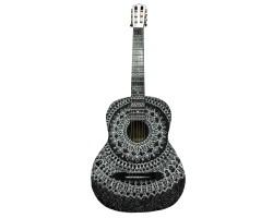 (4325) Эксклюзивная Гитара с Росписью